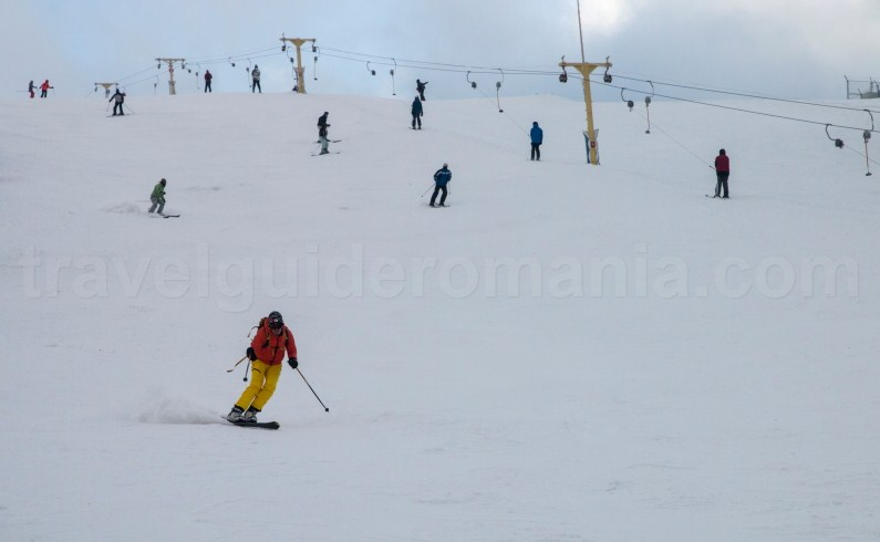 Straja ski resort - Romania during winter