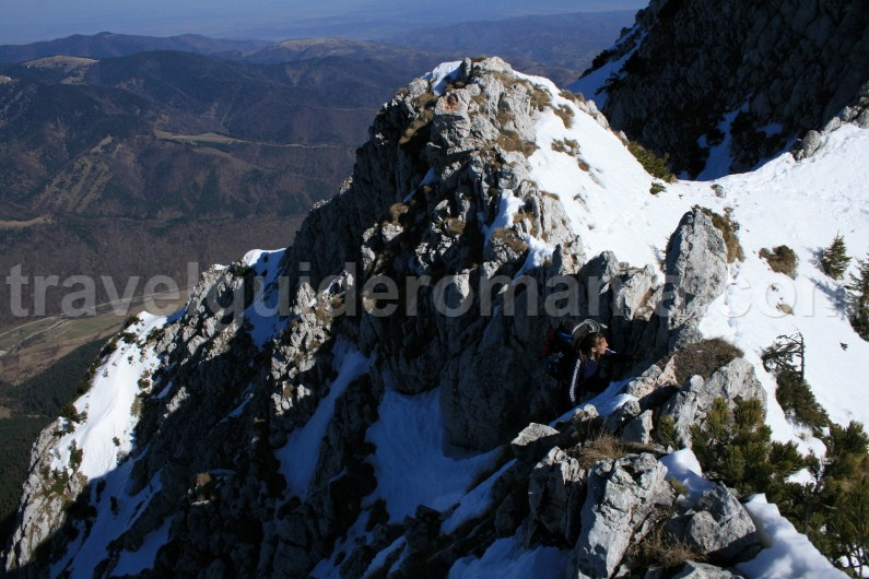 Climbing in Piatra Craiului Mountains - Romania