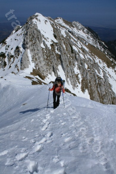 Climbing the Northern ridge of Piatra Craiului Mountains - Romania