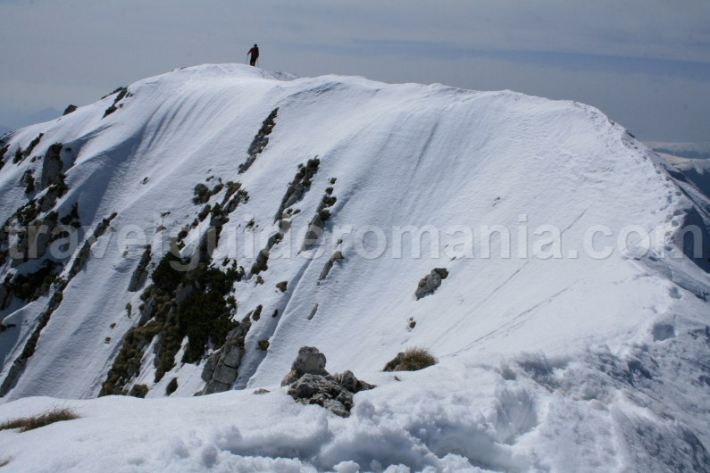 Northern ridge of Piatra Craiului Mountains - Romania