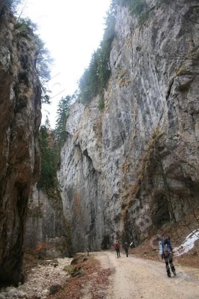 Prapastiile Zarnestilor gorges -Piatra Craiului Mountains