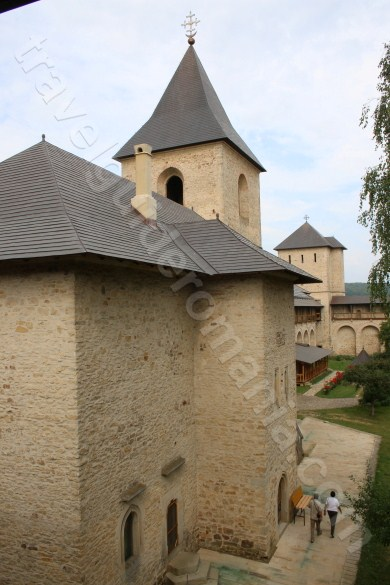 Churches of Moldavia - Dragomirna Monastery