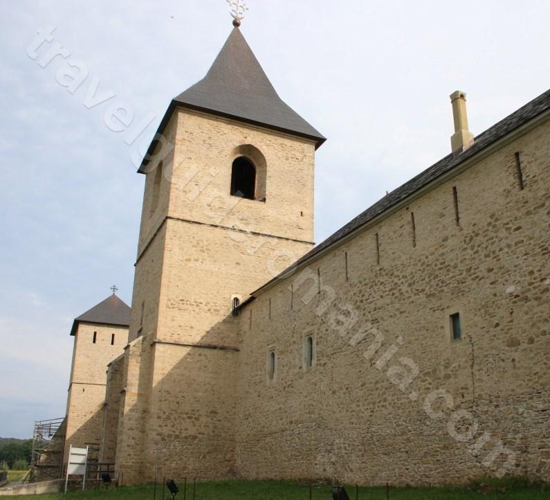 Dragomirna Monastery - a religious monument in Bukovina