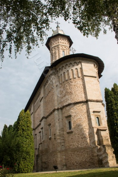 Dragomirna Monastery - the tallest construction of this kind in Moldavia