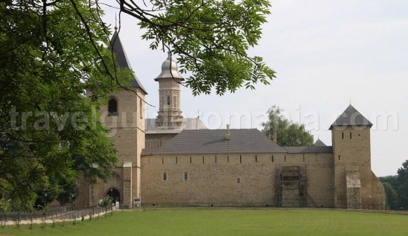 Dragomirna monastery in Bucovina, Moldova - Romania