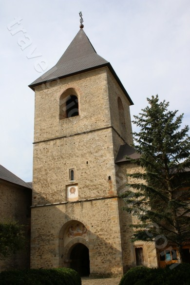 Entrance tower at Dragomirna Monastery