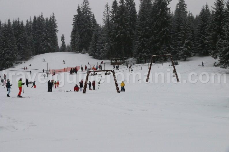 Skiing in Stana de Vale resort
