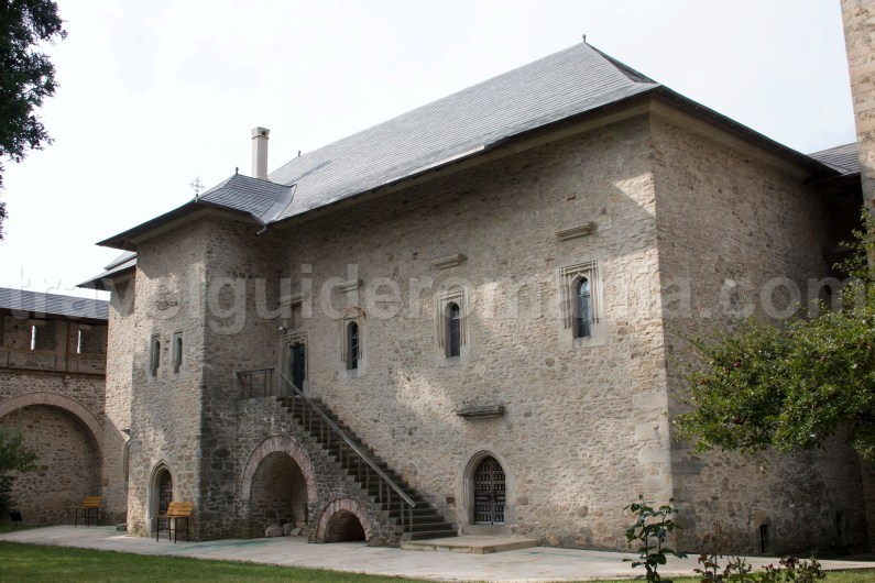 The museum of Dragomirna monastery