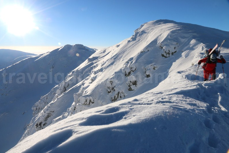 Guided winter trips in Romania - Parang Mountains