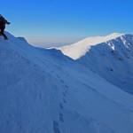 Ski touring in Parâng Mountains