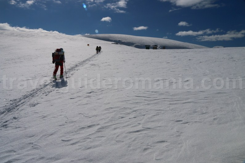 Romania winter trips - Parang Mountains - ski touring