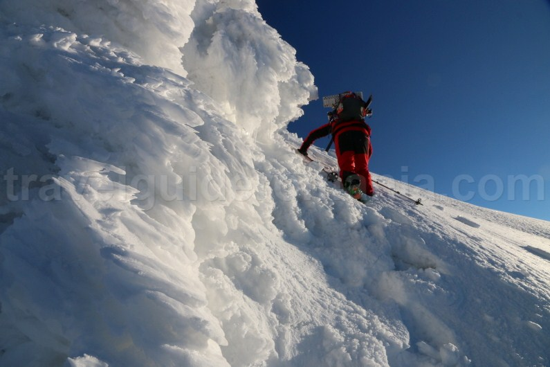 Ski - mountaineering in Romania - Parang Mountains