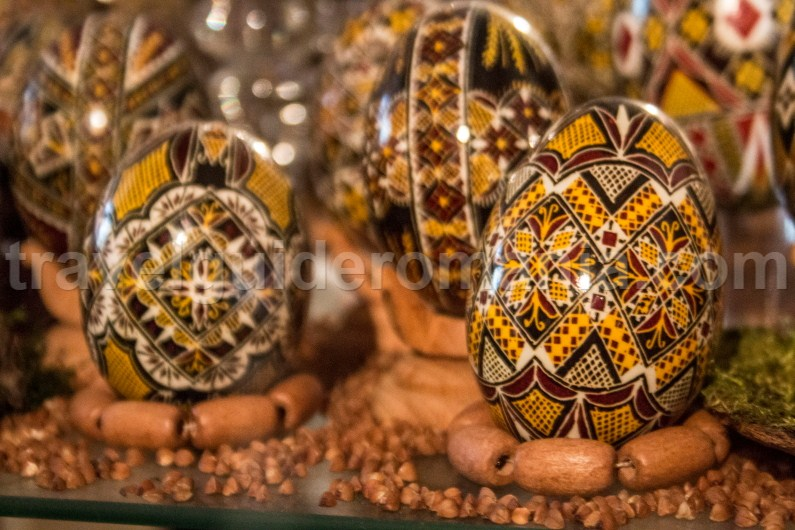 The Museum of Decorated Eggs in Vama, Bukovina