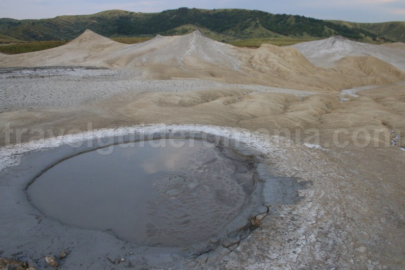 Guidebook for romania - Berca Mud Volcanoes