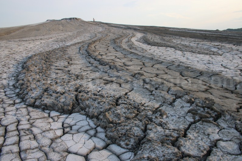 Natural reservations in Romania - Berca Mud Volcanoes