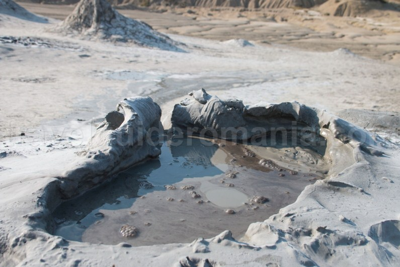 Romania travel guide - Berca Mud Volcanoes