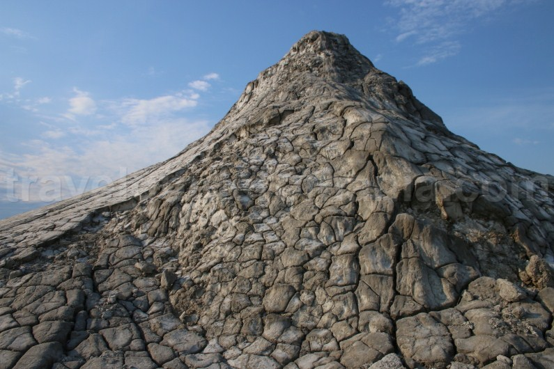 Tourist attractions in Buzau area - Berca Mud Volcanoes