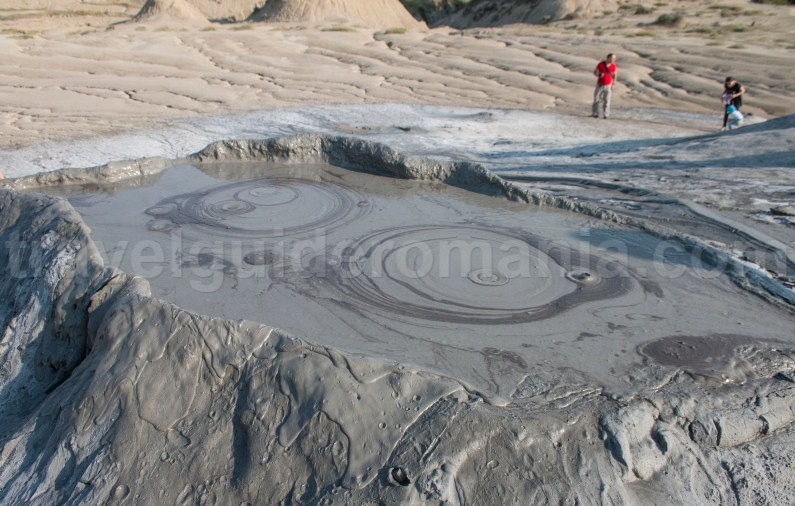 Travel to Romania - Berca Mud Volcanoes