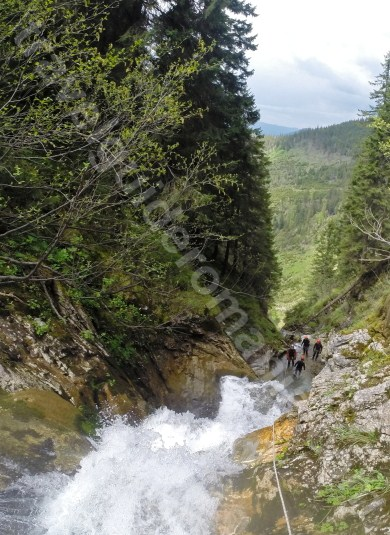 Canyoning at Horses Canyon - Romania - Maramures