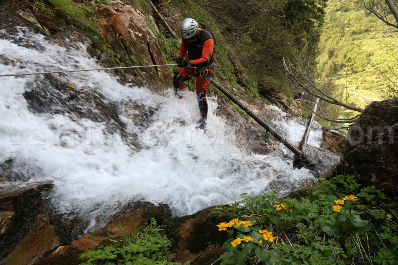 Canyoning trips at Horses Waterfall - Romania