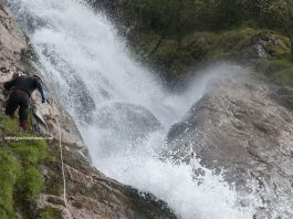 Horses waterfall - Rodnei Mountains