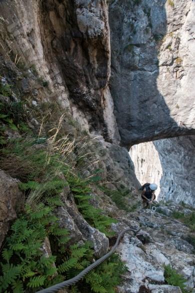 Adventure activities in Transilvania - Turzii Gorge