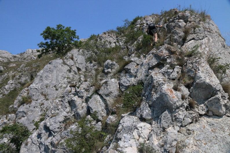 Exit from Via ferrata route - Turzii Gorge