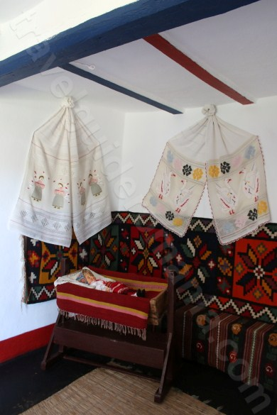 Museum of the traditional house in Enisala village - Romania
