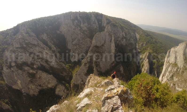 Romania's mountains - Via ferrata route in Turzii gorge