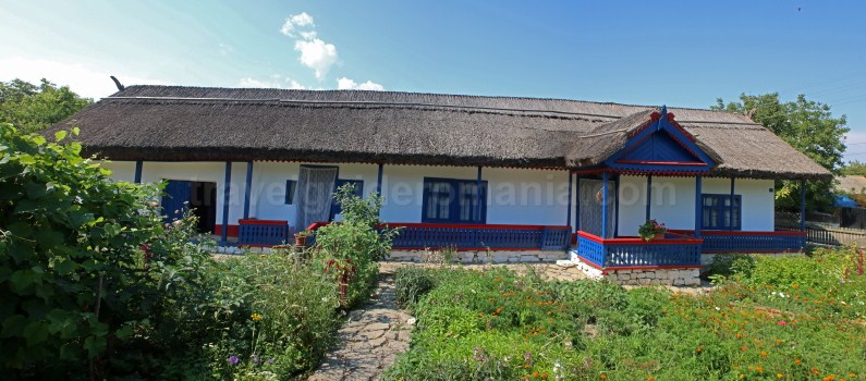 Traditional architecture from Dobrogea