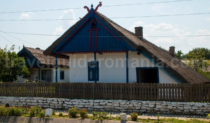 Traditional Dobrudjan house in Enisala village