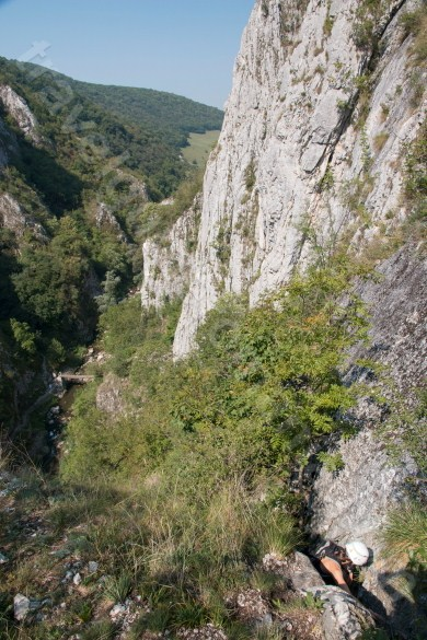 Trips in Romania - Via ferrata route in Turzii Gorge