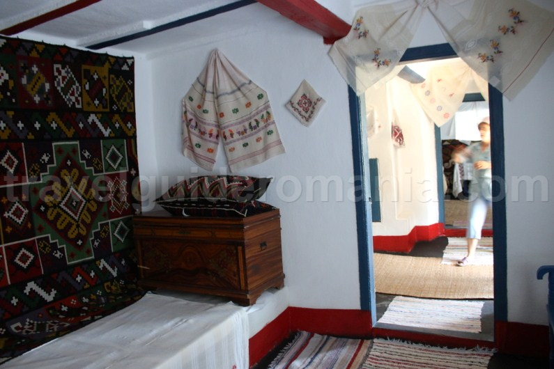Interior of Traditional Dobrudjan house