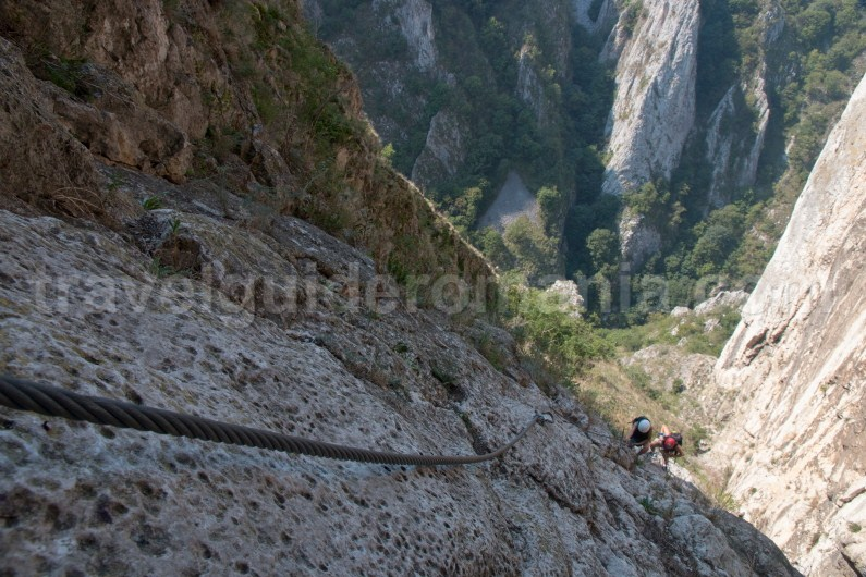 Via ferrata Romania - Turzii Gorge - Trascau Mountains