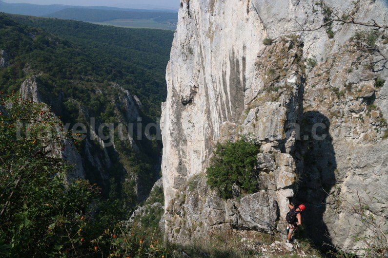 Via ferrata trips in Romania - Turzii Gorge