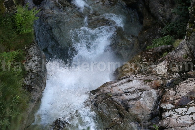 35m waterfall in Marii Canyon - Retezat Mountains