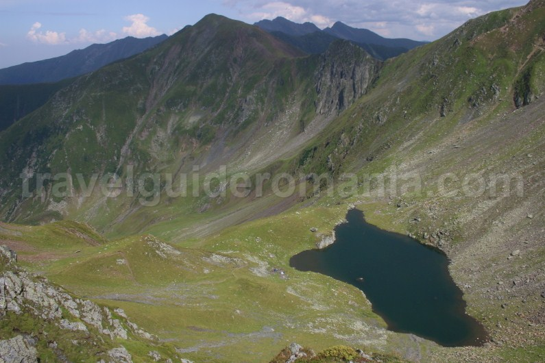 Avrig Lake - Crossing the Ridge of Fagaras Mountains
