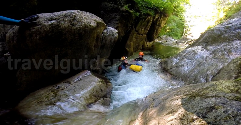Best outdoor adventure activities in Romania - canyoning in Marii Valley