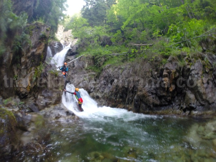 Canyoning at Marii Valley - Retezat Mountains - Romania