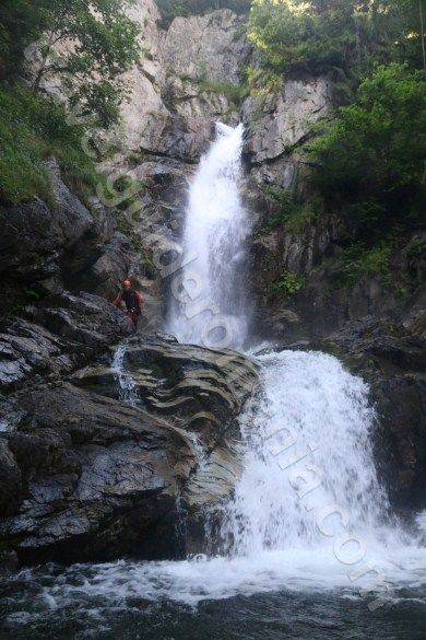 Canyoning in Retezat Mountains - Marii Valley