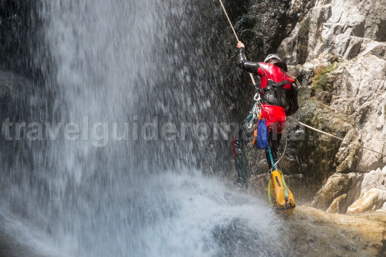 Canyoning in Romania - Marii Valley