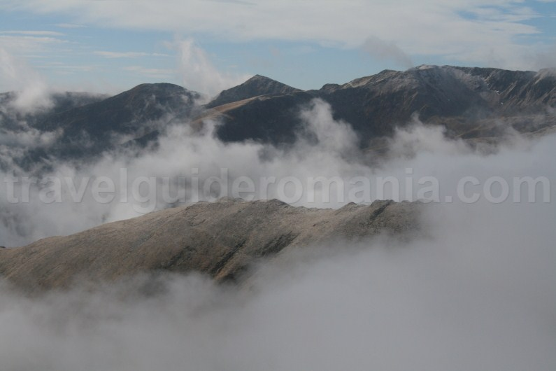 Crossing the Ridge of Fagaras Mountains from West to East - travel to Romania