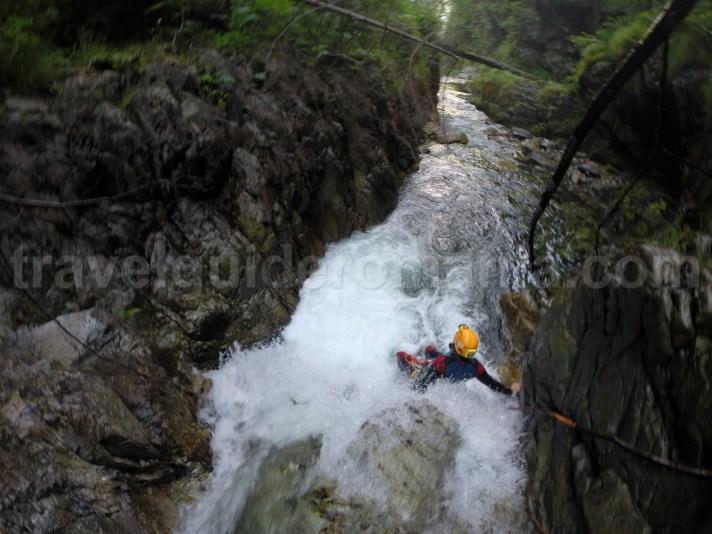Descending Marii Valley in Retezat Mountains - outdoor activities in Romania