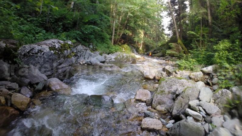 Entrace to Marii Canyon in Retezat Mountains - Romania