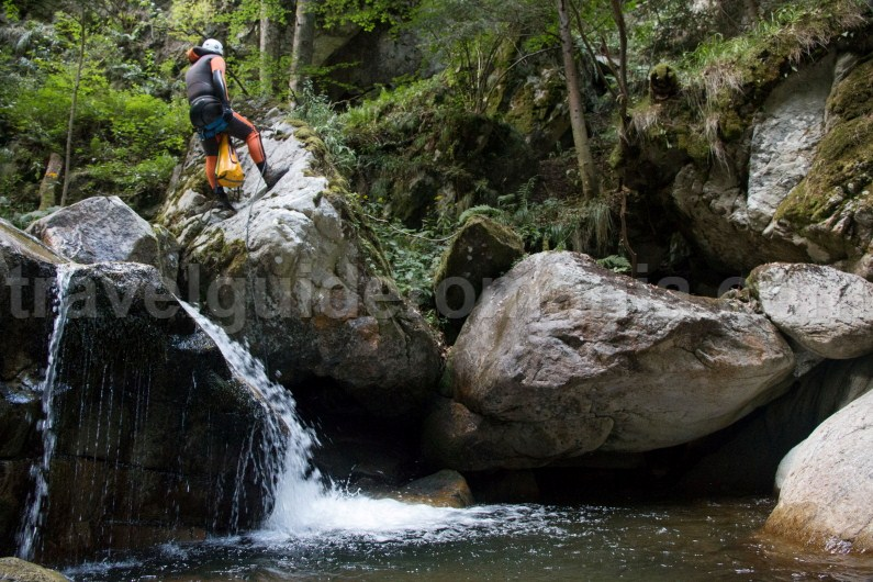 First waterfall in Marii Valley - Retezat Mountains