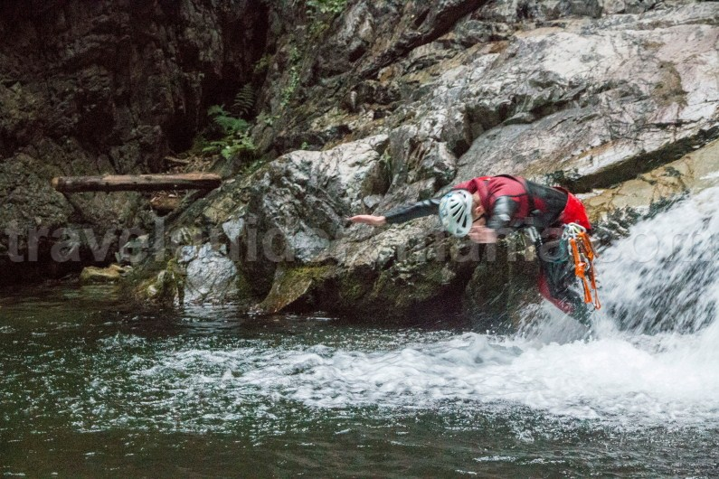 Outdoor activities in Romania - Canyoning Marii Valley