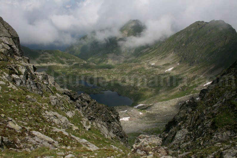 Podragu Lake - Fagaras Mountains subunit of Meridionali Mountains