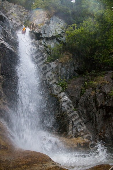 Romanian waterfalls - Marii Valley - Retezat Mountains