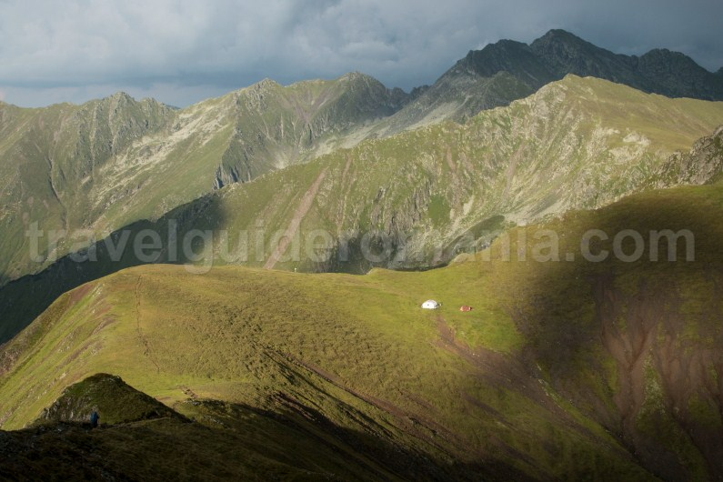 Scara refuge in Fagaras Mountains -Meridionali Carpathians