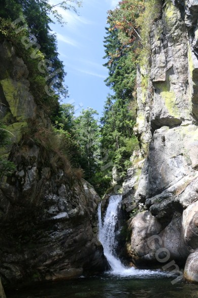 Second waterfall in Marii Valley - Retezat Mountains